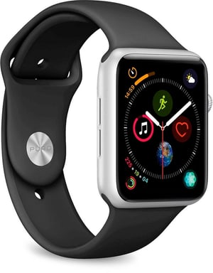 Icon Silicone Band - Apple Watch 42-44mm - black