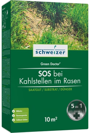 SOS vuoti nel tappeto verde - Green Doctor, 10 m²
