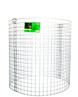 Silo per compostaggio zincato