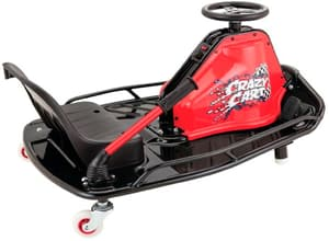 Electric Ride-on Crazy Cart Black