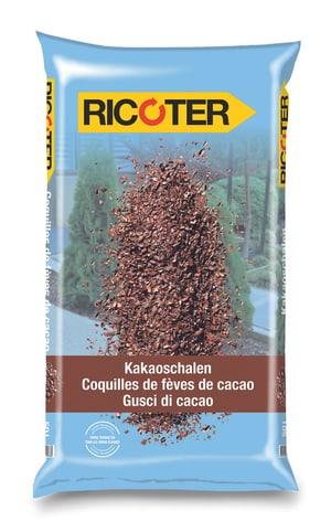 Coquilles de fèves de cacao, 50 l