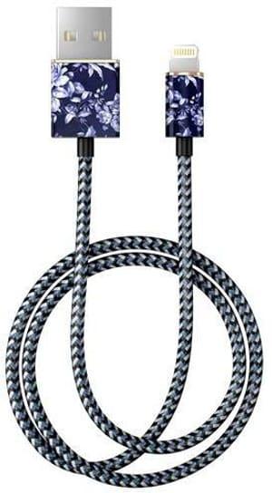 "Câble 1.0m, Lightning->USB  ""Sailor Blue Bloom"""