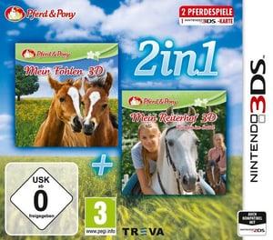 3DS - 2in1: Mein Fohlen + Reiterhof D