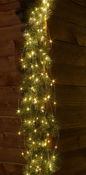LED Angel Hair 300, twinkling