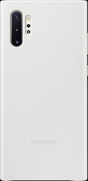 Leather Cover white