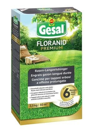FLORANID Premium Engrais gazon longue durée, 2,5 kg
