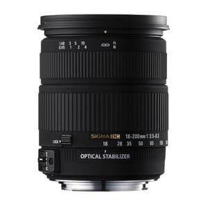 Sigma 18-200mm/3,5-6,3 DC OS HSM CA con