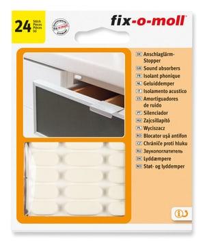 Patins absorb bruit 4 mm / Ø 10 mm 24 x