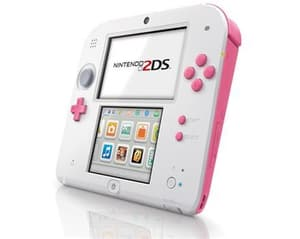 Nintendo 2DS Pink-White