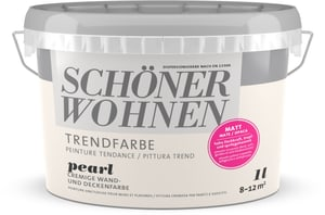 Trend Wandfarbe matt Pearl 1 l