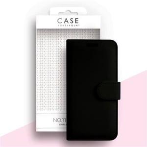 BOOK-Cover Case No.11 Cross Grain black