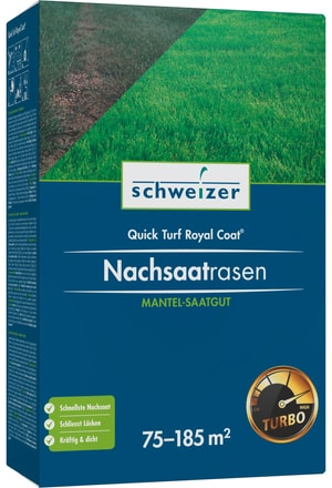 Nachsaatrasen - Quick Turf Royal, 75 m² - 1850 m²