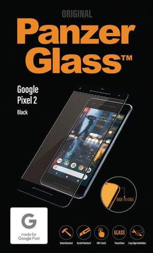 Flat Glass clear Google Pixel 2 schwarz