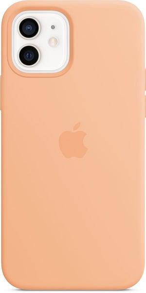iPhone 12/12 Pro Silicone Case MagSafe Cantaloupe
