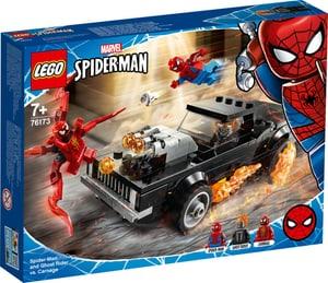 Marvel 76173 Spider-Man et Ghost Rider contre Carnage
