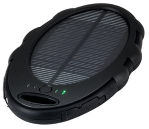 SunPower power bank solare con torcia elettrica LED