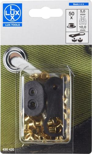 Ösen Classic 5 x 10 mm