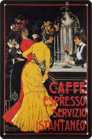 Signe de tôle publicitaire Café Espresso