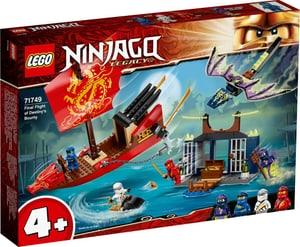 NINJAGO Flug mit dem Ninja-Flugsegler 71749