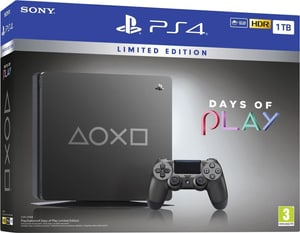 PlayStation 4 1 TB Days of Play Limited Edition