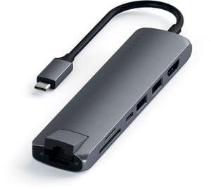 USB-C Slim Multi-port (6Ports)