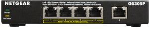 GS305P-100PES 5-port PoE Gigabit Ethernet Unmanaged Switch