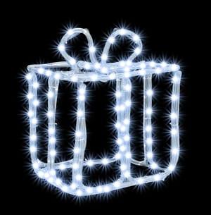 LED boîte cadeau 25 cm