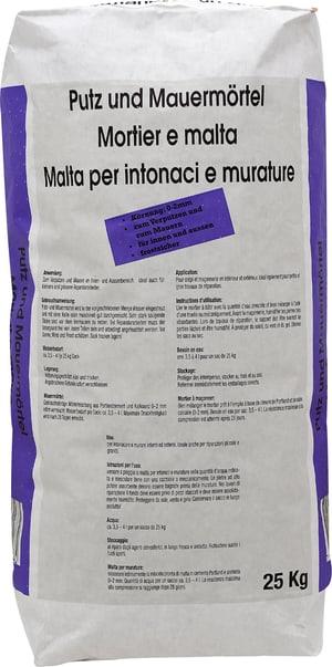Malta per intonaci e murature