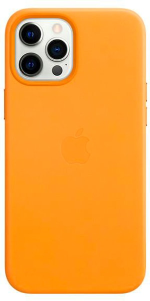 Leather Case avec MagSafe iPhone 12 Pro Max