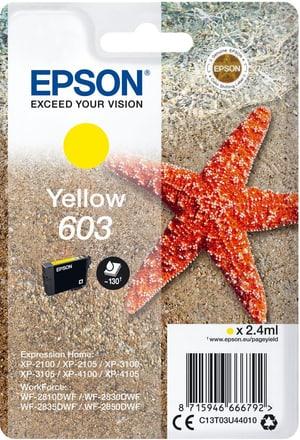 cartouche d'encre 603 yellow