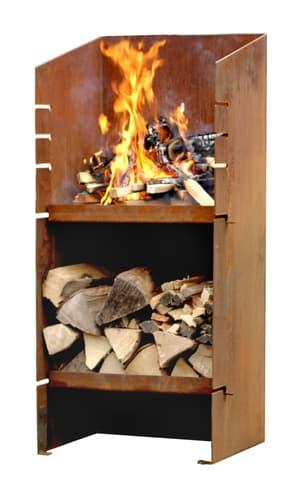 Barbecue colonne