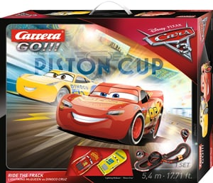 Disney Cars 3 Go Ride the Track
