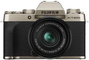 X-T200 Gold Kit XC 15-45mm