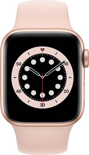 Watch Series 6 LTE 40mm Gold Aluminium Pink Sand Sport Band