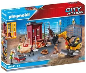 70443 Mini-pelleteuse et chantier