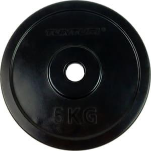 Gummierte 5 kg Gewichtsscheibe 30 mm