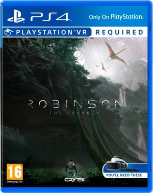 PS4 VR - Robinson The Journey VR