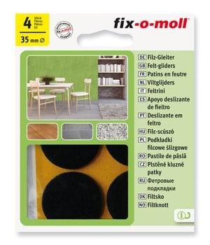 Filzgleiter 3 mm / Ø 35 mm 4 x