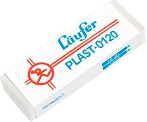 Plast-Radierer 65x21x12mm 0120 mit Kartonmanschette