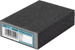 Éponges abrasives, LAQUE & AUTO, résistante à l´eau, moyen/gros