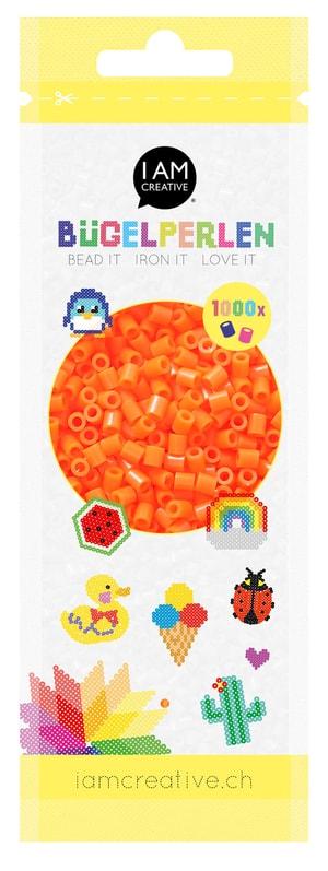 Bügelperlen,1000 Stk. orange