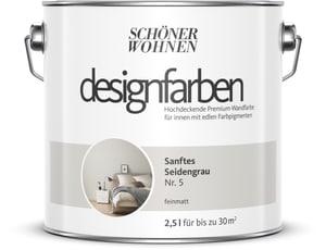 Designfarbe Sanftes Seidengrau 2,5 l