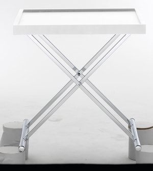 SOLO TABLE BASSE BLANC