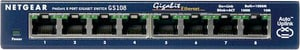 GS108GE 8-Port Unmanaged Gigabit Kupfer Switch