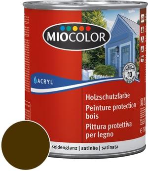 Pittura protettiva per legno Marrone seppia 750 ml