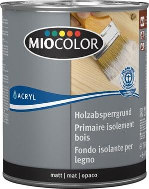 Primaire acrylique isolant pour le bois Blanc 750 ml