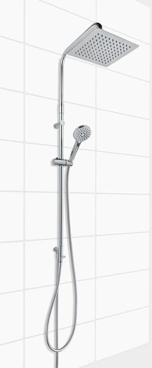 Sistema di doccia Carpo Turn cromato