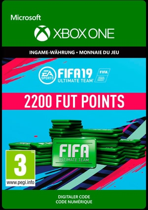 Xbox One - Fifa 19 Ultimate Team 2200 Points