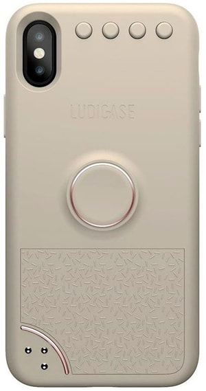Back Cover Ludicase Creamy Rose Gold