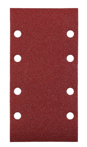 Patins abrasifs, corindon affiné, 93 x 185 mm, K40